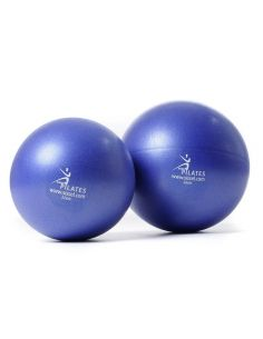 Pilates ball bleu