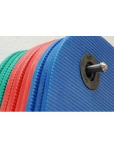 SUPPORT TAPIS DE GYM AVEC OEILLETS