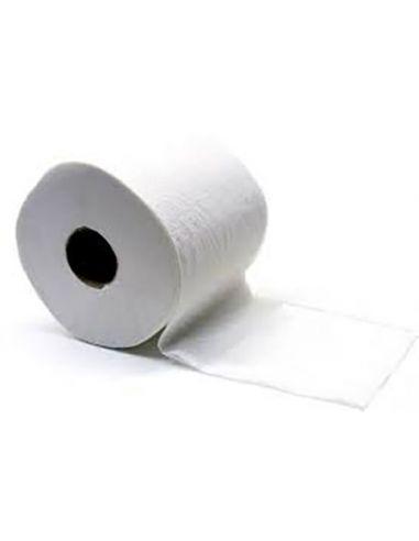 Papier hygiénique compact blanc 600 F (Colis 24 rouleaux)