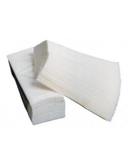 Essuie main pliage en Z 21 x 23 cm 2 plis (4500 feuilles)