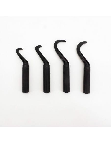 Set de 4 crochet EKMAN en polyamide avec pochette