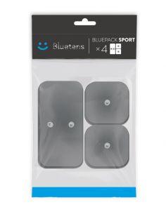 Electrodes Bluetens Duo-Sport carré (x8) & rectangle (x4)