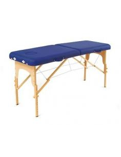 Table de massage pliante Basic bleu + Sac de transport