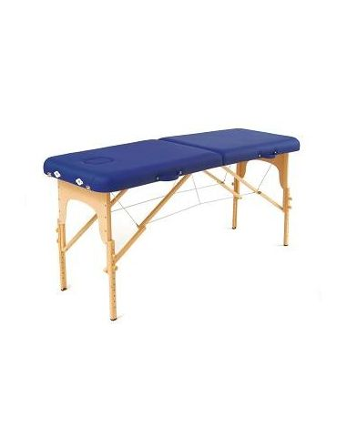 TABLE BASIC BLEUE + SAC DE TRANSPORT