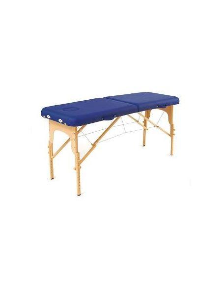 Table pliante Basic bleu + Sac de transport
