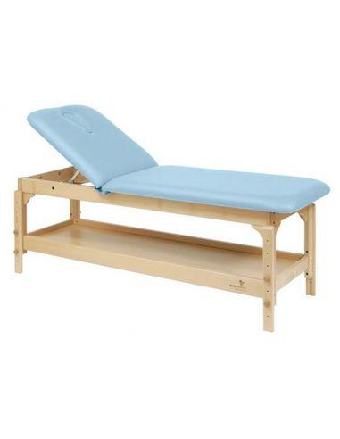 Table fixe bois 2 plans avec...