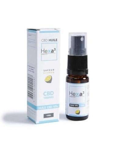 Huile MCT au CBD 10 ml HEXA3 10%