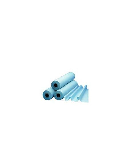 Drap d\'examen plastifié bleu 50 x 38 cm (Unité)