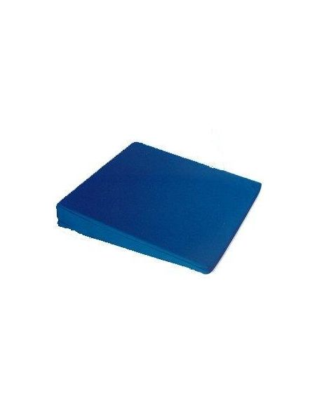 Coussin triangulaire bleu nuit 35x35x6 cm